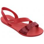 Анатомични дамски бразилски сандали, леко и гъвкаво ходило / Bull Ipanema 82429/25457 червен / MES.BG
