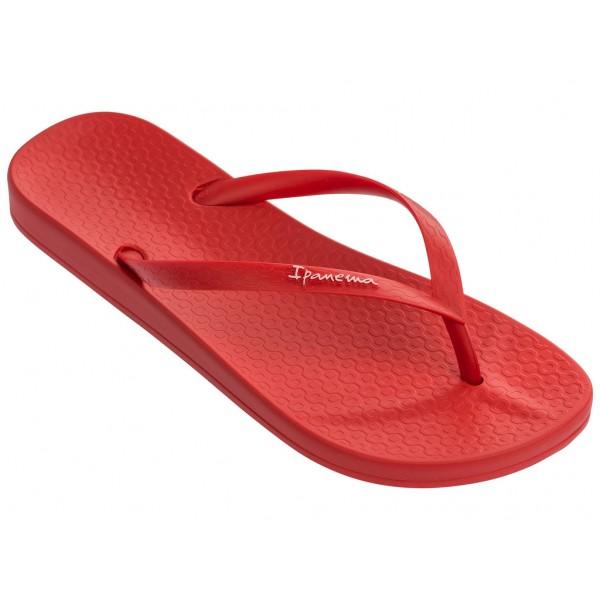 Анатомични дамски чехли, бразилски, между пръстите / Bull Ipanema 82591/21513 червен / MES.BG