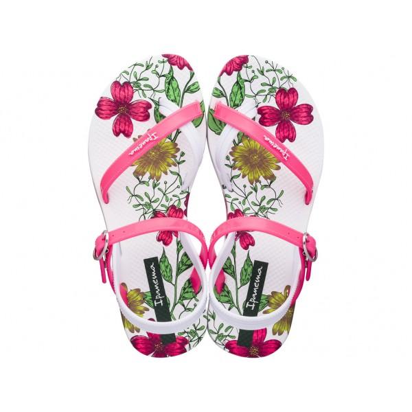 Комфортни детски сандали в свежи летни цветове / Bull Ipanema 82767/20755 бял-розов / MES.BG