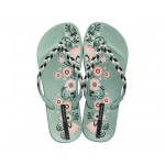 Дамски бразилски чехли, ароматизирани, гъвкави / Bull Ipanema 82769/21794 зелен-черен / MES.BG