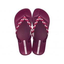 Комфортни дамски бразилски чехли, леки и еластични / Bull Ipanema 82769/22257 розов / MES.BG