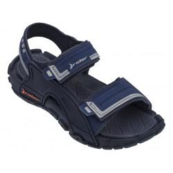 Юношески бразилски сандали с велкро закопчаване, олекотени и гъвкави / Bull Rider 82817/20729 син / MES.BG