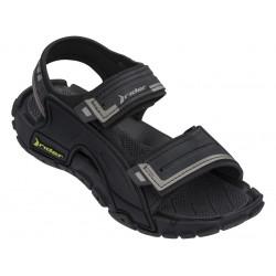 Юношески бразилски сандали с велкро закопчаване / Bull Rider 82817/20766 черен / MES.BG