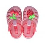 Удобни детски сандалки с велкро лепенка / Bull Ipanema 82858 розов / MES.BG