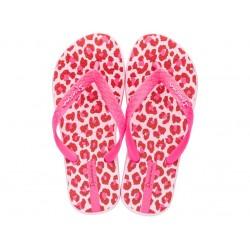 Комфортни детски чехли, лента между пръстите в неоново розово / Bull Ipanema 82883/24780 розов / MES.BG