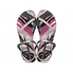Комфортни бразилски сандали, гъвкави и еластични / Bull Ipanema 82891/25420 бежов-черен / MES.BG