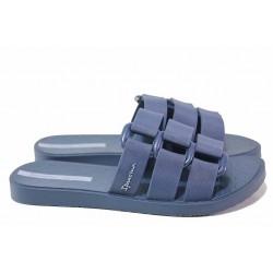 Бразилски чехли, анатомични, висококачествен PVC материал / Ipanema 26519 син / MES.BG