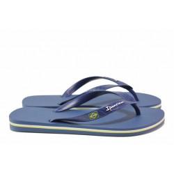 Ароматизирани дамски чехли, тип прашка, гъвкави / Ipanema 80415 т.син / MES.BG