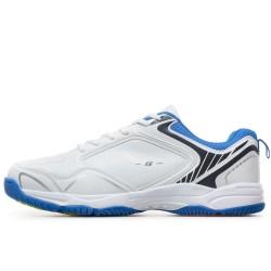 Класически модел мъжки маратонки с удобно ходило / Bull 91073 бял-син / MES.BG