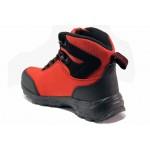 Водоустойчиви юношески боти, леки, топли, ветроустойчиви, гъвкави / АБ WT 62-21 червен / MES.BG