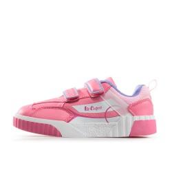 Модни детски маратонки с велкро лепенки / Bull Lee Cooper 902-02 розов / MES.BG
