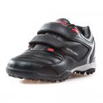 Детски футболни маратонки с велкро лепенки / Bull Outdoor 19-2 черен / MES.BG