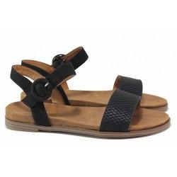 """Дамски сандали с """"мемори"""" пяна, еластични, класически модел / S.Oliver 5-28105-26 черен / MES.BG"""