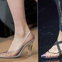 Прозрачни обувки