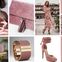 Обувки за розова рокля