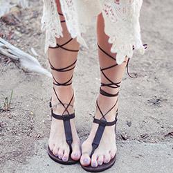 Как да направите перфектни гладиаторски сандали вкъщи?