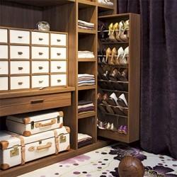 Място за съхранение на обувките