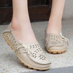 Равни дамски обувки лятото