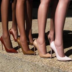 Дамски обувки в телесен цвят – задължителна част от женския гардероб