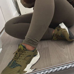 Зелени спортни обувки – зелени маратонки