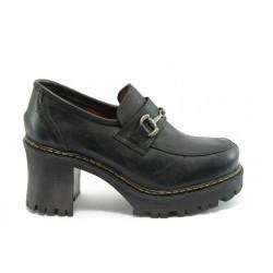 Дамски обувки на ток ФЯ 672667 черни