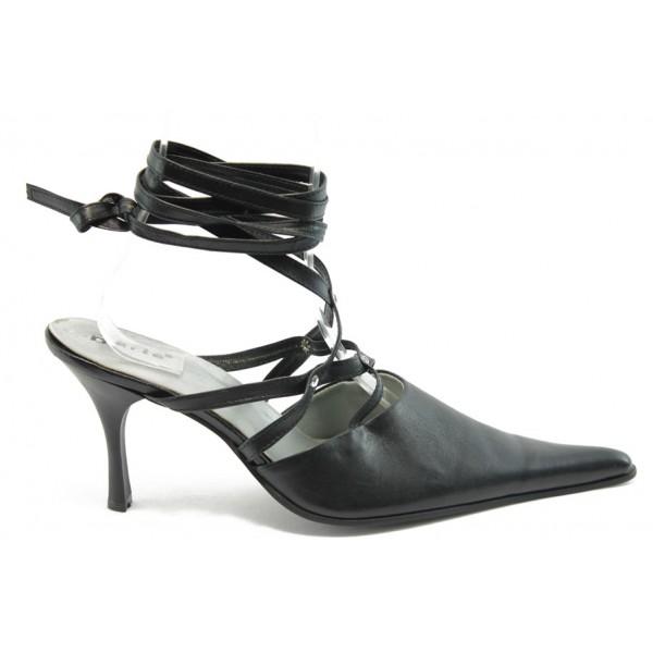 Елегантни дамски обувки ДРС 88-1 черни