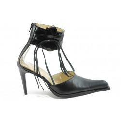 Елегантни дамски обувки ДРС 71-5363 черни