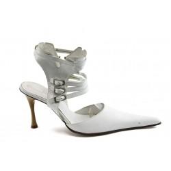 Елегантни дамски обувки БИ 24005 бели