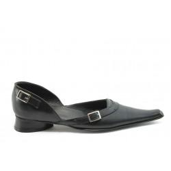 Дамски обувки от естествена кожа БИ 24025