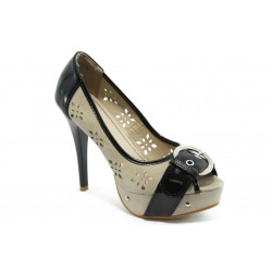 Дамски обувки на висок ток XS 2747 черни