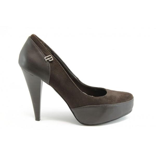 Дамски обувки на висок ток КП 0937к