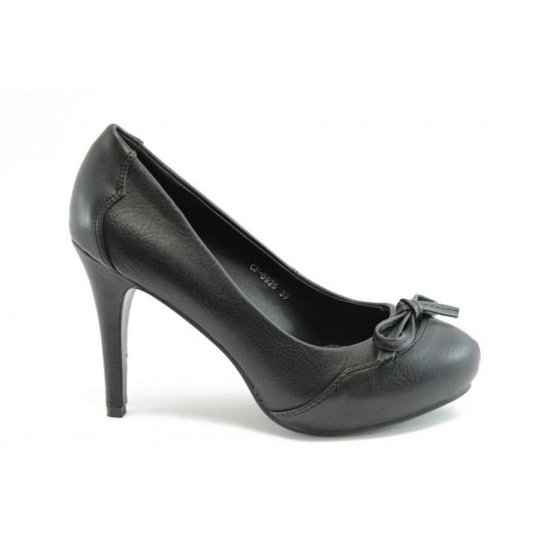 Дамски обувки на висок ток КП 0925
