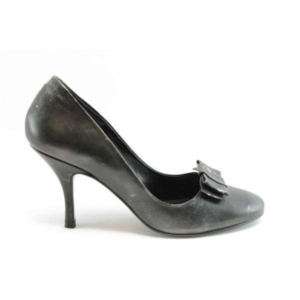 Дамски обувки от естествена кожа ФЯ 7123611