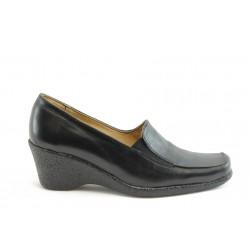 Дамски обувки на платформа естествена кожа НЛ 220