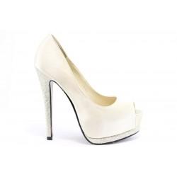 Дамски обувки на висок ток ПИ 1035БЕЖ