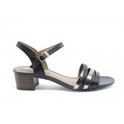 Немски сандали на ток S.Oliver 28224Черен