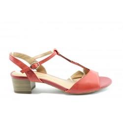Немски сандали на ток S.Oliver 28225Червен