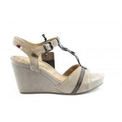 Немски сандали на платформа Tamaris 28349БЕЖ