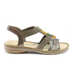 Немски равни сандали Rieker 62878