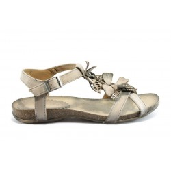 Дамски равни сандали ИО 1278БЕЖ