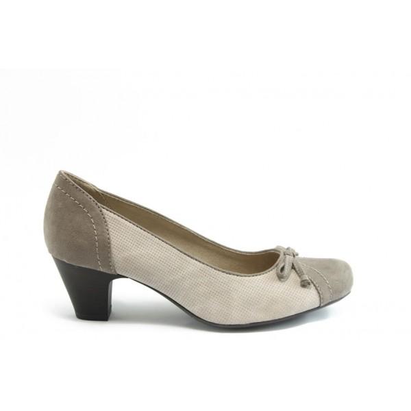 Дамски обувки на ток Jana 22363 беж