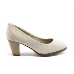 Немски обувки на ток Jana 22462БЕЖ