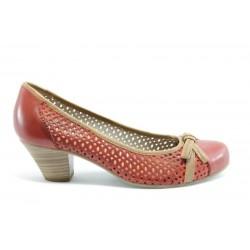 Дамски обувки на ток Jana 22319ЧВ ANTISHOKK