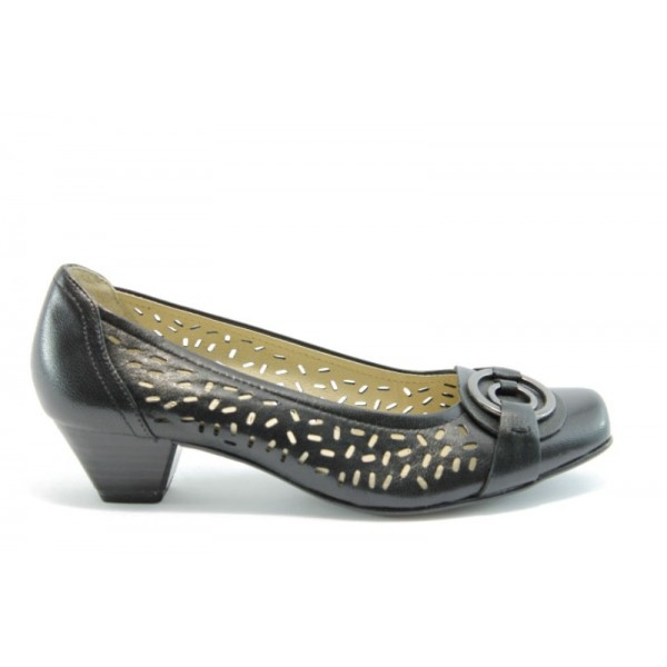 Немски обувки на ток Caprice 22302Ч