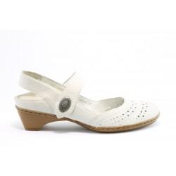 Немски обувки Rieker 44776БЯЛ