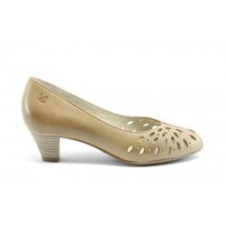 Дамски обувки на ток Caprice 29200БЕЖ