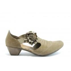 Немски обувки на ток Rieker 49789К