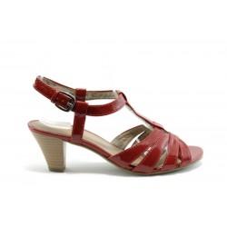 Немски сандали на ток Jana 28362ЧВ
