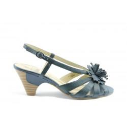 Немски сандали на ток Caprice 28380СИН