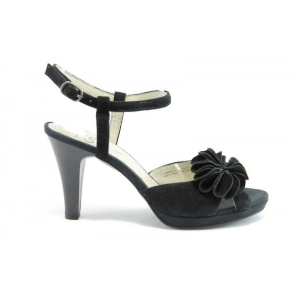 Немски сандали на висок ток Caprice 28307Ч.В.